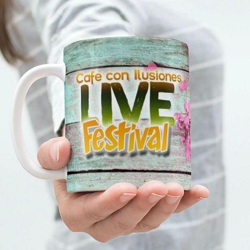 Taza Live Festival Café con Ilusiones